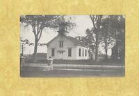 ME Kennebunk  Portland ST Church 1910 RPPC real photo postcard