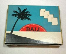 BALI  (Vintage 1954 Word Game)