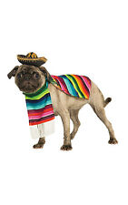 Serape Pet Costumes Mexican Dog Cat Outfit