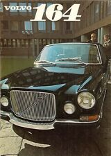 Volvo 164 1969-70 UK Market Sales Brochure