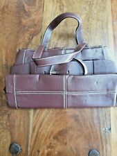 Gorgeous dark brown Fiorelli medium handbag VGC
