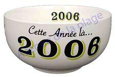 Bol année de naissance 2006 en grès - idée cadeau anniversaire neuf