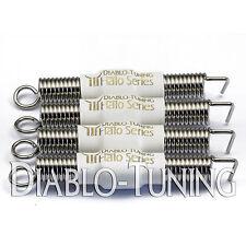 Set of 4 White SILENT / Noiseless Premium guitar Tremolo Springs - Halo Series