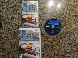 Very good - Blazing Angels: Squadrons of WWII (Nintendo Wii, 2007) - CIB