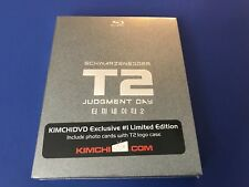 Terminator 2 Limited 1,000 Steelbook KE NO 1 Non-Numbered Kimchi Full-Slip Ed.