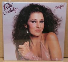Rita Coolidge SATISFIED vinyl LP record NEW SEALED cut out