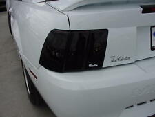 Smoke Tail Light Covers for a 1987 - 1993 Ford Mustang