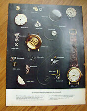 1968 Bulova Watch Ad If you want something done right Do it Yourself