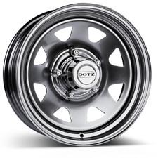 CERCHI 4X in acciaio DOTZ 4X4 Dakar 7x17 - 6x114.3 - ET.30 CB.66.1 - Silver