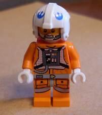 LEGO star wars snowspeeder pilote personnage orange-pilotes rebelles Hoth glace NEUF