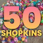 SHOPKINS!!! *Assorted Lot Of 50* ;) Season 1 2 3 4 6 7 8 9 (MiniFigures) NoDupli For Sale