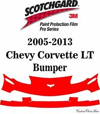 3M Scotchgard Paint Protection Film Pro Series 2011 2012 2013 Chevy Corvette LT