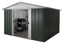 282 Customer Returned Yardmaster Apex Metal Shed - Maximum Size 9ft 11 x 7ft 9in