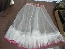 Vintage Slip Petticoat Crinoline Size 8