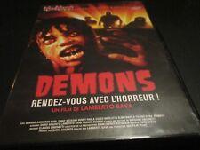 """DVD NEUF """"DEMONS"""" film d'horreur de Lamberto BAVA / giallo"""