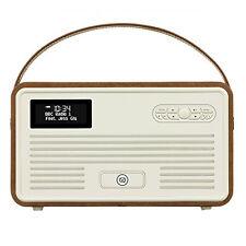 VQ View Quest Retro Radio MKII DAB+ FM Bluetooth Speaker 5s 6s iPhone dock BROWN