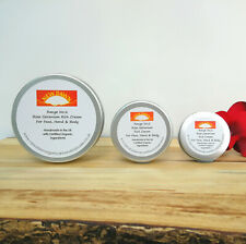 ROSE GERANIUM RICH CREAM - New Dawn Organic Skin Care - Moisturiser for Dry Skin