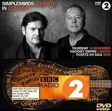 SIMPLE MINDS - at HACKNEY EMPIRE, LIVE FOR BBC, LONDON - 10 november 2016 (DVD)