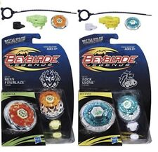 Hasbro Beyblade Legends BB-59 Burn Fireblaze 135MS + BB-30 Rock Leone 145WB