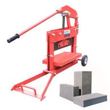 Manual Brick Cutting Machine Block Splitter Landscape Paving Cutter Genuine