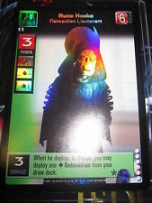 SWCCGYJ CCG YOUNG JEDI REFLECTIONS FOIL MINT SUPER RARE N° P19 RUNE HAAKO