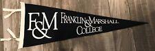 Franklin & Marshall College Diplomats NCAA Wool Pennant