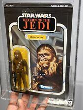 AFA 85 Star Wars Kenner 1983 ROTJ Return Of The Jedi Chewbacca 65-back NM+