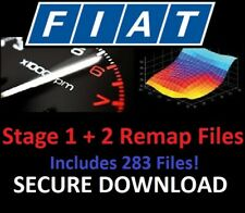 Fiat Stage 1 + 2 ECU Chip Tuning Remap Files - Includes 283 Files! - Download