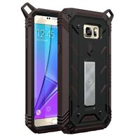 Samsung Galaxy Note 5 POETIC 【Revolution】Premium Rugged Shockproof Case Black