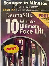 DermaSilk 10 Minute Ultimate Face Lift + Flawless Trial (5 Anti-Aging Formulas)