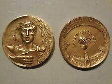 medaglia carabinieri Salvo d'acquisto med oro carpi 1978 45mm