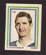 Orland Kurtenbach Vancouver Canucks 1972-73 Eddie Sargent Hockey Sticker Stamp