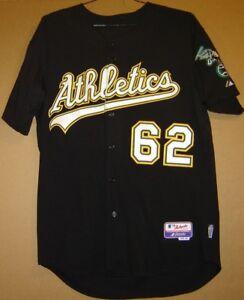OAKLAND ATHLETICS CLAYTON MORTENSEN A'S BLACK ALTERNATE MLB JERSEY