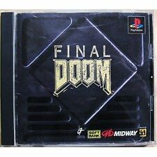 USED PS1 PS PlayStation 1 Final Doom