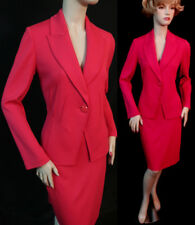 NWT ST JOHN GRENADINE MILANO KNIT FITTED SKIRT SUIT SZ 6