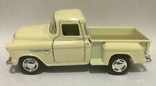 Kinsmart 1955 Chevy Stepside 3100 Pick up truck 1:32 scale model white