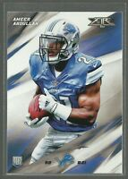 Ameer Abdullah RC 2015 Topps Fire Rookie Card # 42 Detroit Lions Football NFL