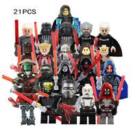 21pcs Star wars Trooper Clone Minifigures Soldier Figure Building Block new Toy