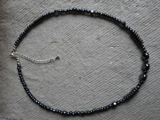 Handmade ~  Necklace ~ Haematite and Seed Bead