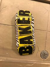 LC BOARDS Fingerboard Old School Boxy Shape Baker Graphic 98x 35 Brand New