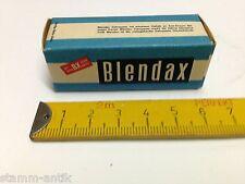 alte Pappschachtel,Blendax Zahnpasta,Zahncreme,Zubehör,Kaufladen,Kaufmannsladen