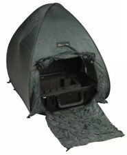 2- Small Utility Green Tent For Camping Supplies Hiking & Outdoor Activities