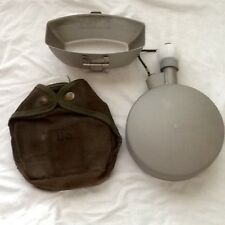 US MILITARY  INSULATED 1 QUART ARCTIC CANTEEN W/ COVER & CUP