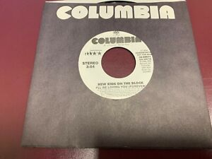 """NEW KIDS ON THE BLOCK I'LL BE LOVING YOU 7"""" 45 1988 Columbia 38-68671 PROMO NEW"""