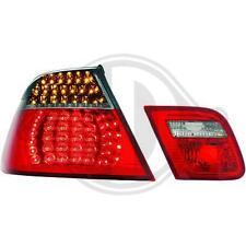 Coppia fari fanali posteriori TUNING BMW Serie 3 E46 99-07 COUPE' LED rosso fumè