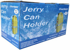 DUNBIER LOCKABLE JERRY CAN HOLDER GALVANISED HEAVY DUTY TRAILER MARINE BOAT