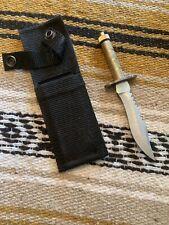 Wolf Cutlery Brand Mini Survival Rambo  Tactical Knife w/sheath