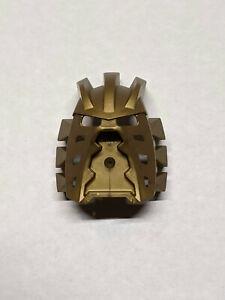 NEW! 2002 LEGO Bionicle Gold Avohkii Kanohi mask 44814, for set 8596 Takanuva