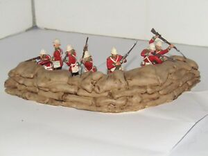 1/32 SCALE PAINTED RESIN SMOOTH MEALIE BAGS / LARGE SANDBAGS REDOUBT SECTION