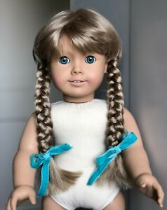 Restored Early White Body Pleasant Company Kirsten Doll (American Girl Doll)